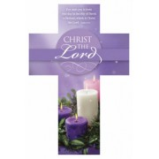 Bookmarks Cross - Advent Christmas Christ the Lord