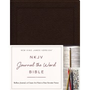 NKJV Journal the Word Bible BL Brown