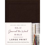 NKJV Journal the Bible Large Print BL