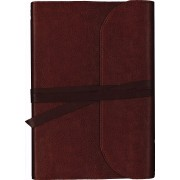 NKJV Journal the Word Bible Large Print Premium Leather