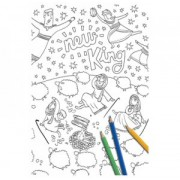 Christmas Promise: Giant Colouring Poster, The
