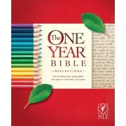NLT: One Year Bible - Reflections, PB