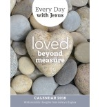 Every Day With Jesus Calendar 2018: Loved Beyond Measure