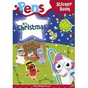 Pens Sticker Book: It's Christmas