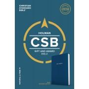 CSB Gift & Award Bible, Blue