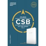 CSB Gift & Award Bible, White