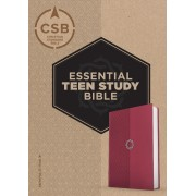 CSB Essential Teen Study Bible, Rose Leathertouch