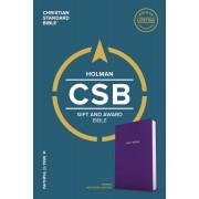 CSB Gift & Award Bible, Purple