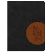 CSB Apologetics Study Bible For Students, Black/Tan Leathert