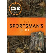 CSB Sportsman'S Bible: Large Print Compact Edition, Mothwing