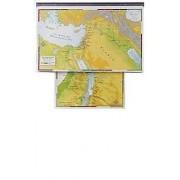 Abingdon Bible Land Maps with Charthead--Set of 8