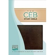 The CEB Study Bible, Brown Bonded Leather