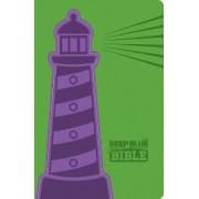 CEB Deep Blue Kids Bible Lighthouse DecoTone