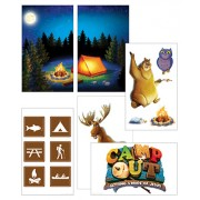 Giant Decorating poster Pack (Pack of 6)