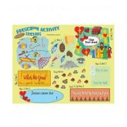 FaithWeaver Friends Preschool Activity Stickers Fall 2017