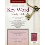 Hebrew-Greek Key Word Study Bible Genuine Burgundy, The