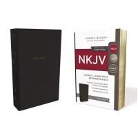 NKJV Reference Bible, Compact Large Print, Black