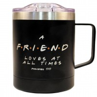Friend Stainless Steel Mug with Handle