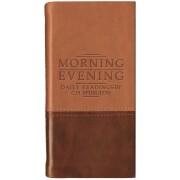 Morning And Evening Tan/Burg