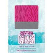 GW God's Word For Girls Pink/Silver, Zebra Print Design