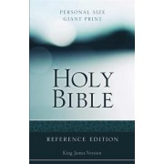 KJV Personal Size Giant Print Reference Bible Hardcover