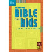 NLT One Year Bible For Kids, Challenge Edition