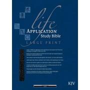 KJV Life Application Study Bible,  Large Print, Black