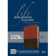 KJV Life Application Study Bible Large Print, Tutone