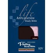 KJV Life Application Study Bible Personal Size Tutone