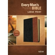 NIV Every Man'S Bible Large Print, Tutone