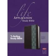 NKJV Life Application Study Bible Tutone