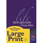 NKJV Life Application Study Bible Large Print