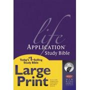 NKJV Life Application Study Bible Large Print Thumb Index