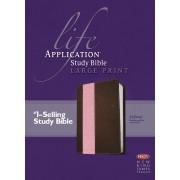 NKJV Life Application Study Bible Large Print, Tutone