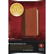 NLT Study Bible Personal Size Brown/Tan