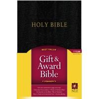 NLT Gift And Award Bible Black
