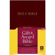 NLT Gift And Award Bible Burg