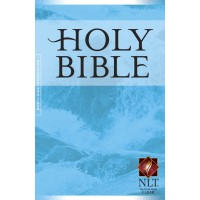 NLT Gift And Award Bible, Blue