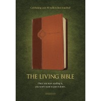 Living Bible Tutone Brown/Tan, The