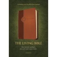 Living Bible Tutone Brown/Tan, The