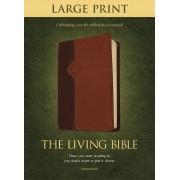 Living Bible Large Print Edition Tutone, The