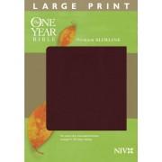 NIV One Year Bible Premium Slimline Large Print, The
