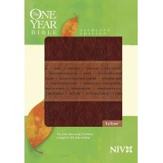 One Year Bible Niv, Slimline Edition, The