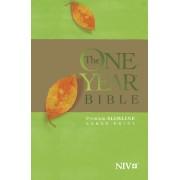 NIV One Year Bible Premium Slimline Large Print Edition, The