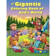 Gigantic Coloring Book Of God's World, The