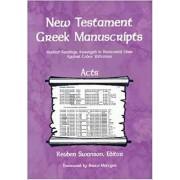 New Testament Greek Manuscripts: Acts
