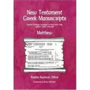New Testament Greek Manuscripts: Matthew