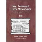 New Testament Greek Manuscripts: John