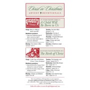 Christ In Christmas Advent Devotionals 50-Pack