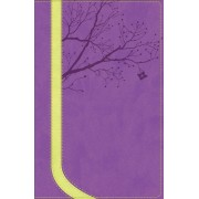 NKJV God Girl Bible, Pretty Purple/Neon Green, Tree Design D